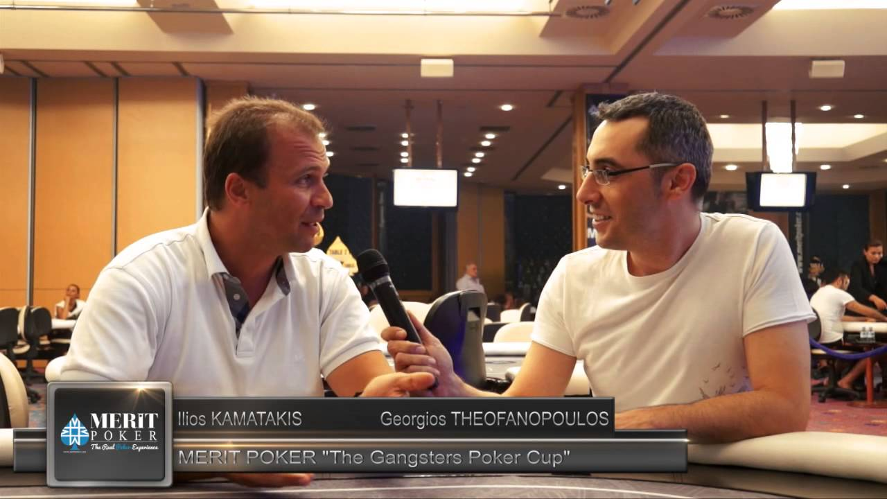 MERIT POKER The Gangsters Poker Cup « Ilios KAMATAKIS ITW »