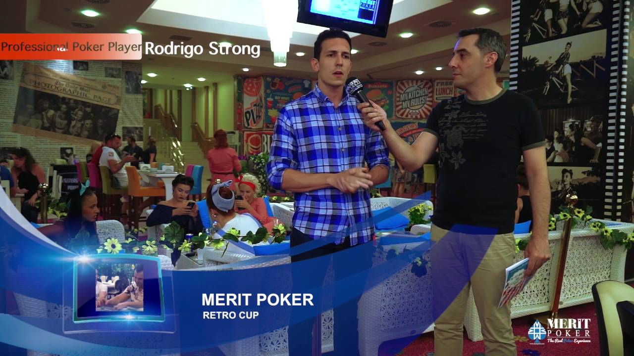 Merit Poker Retro Cup « Interview Rodrigo Strong »